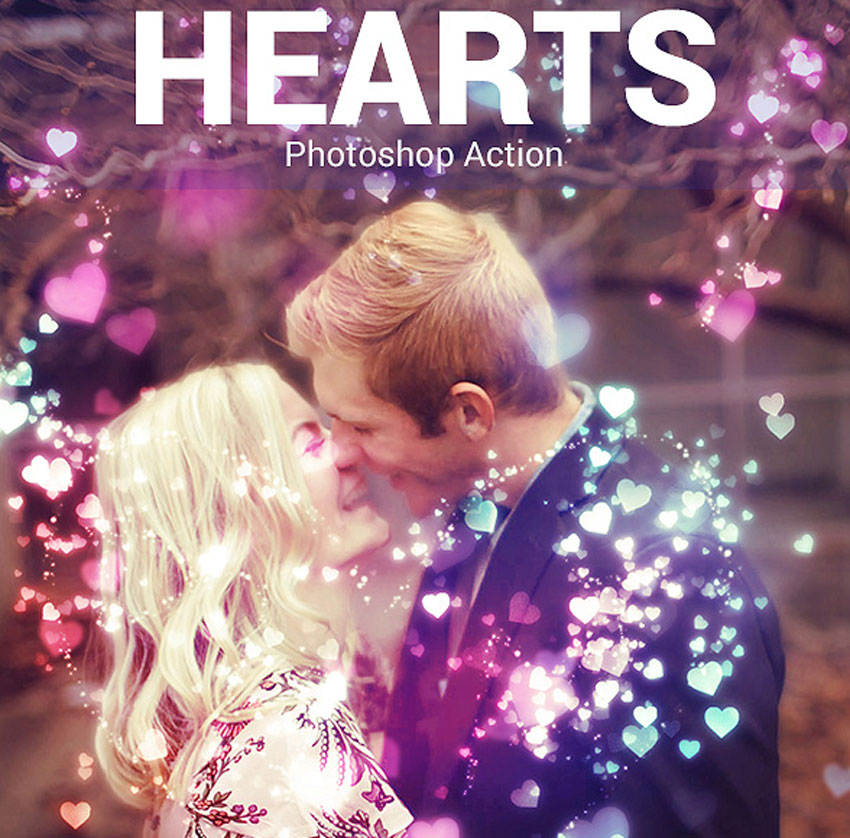 Hearts Photo Effect
