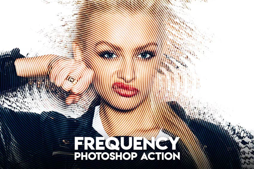 Frequency Photoshop Action