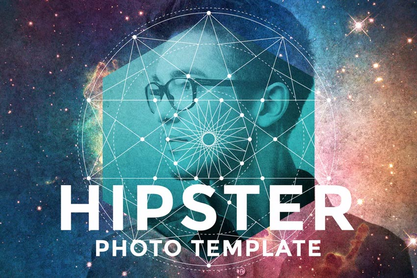 Hipster Photo Template