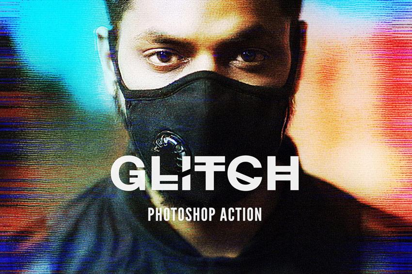 Glitch Effect Overlays