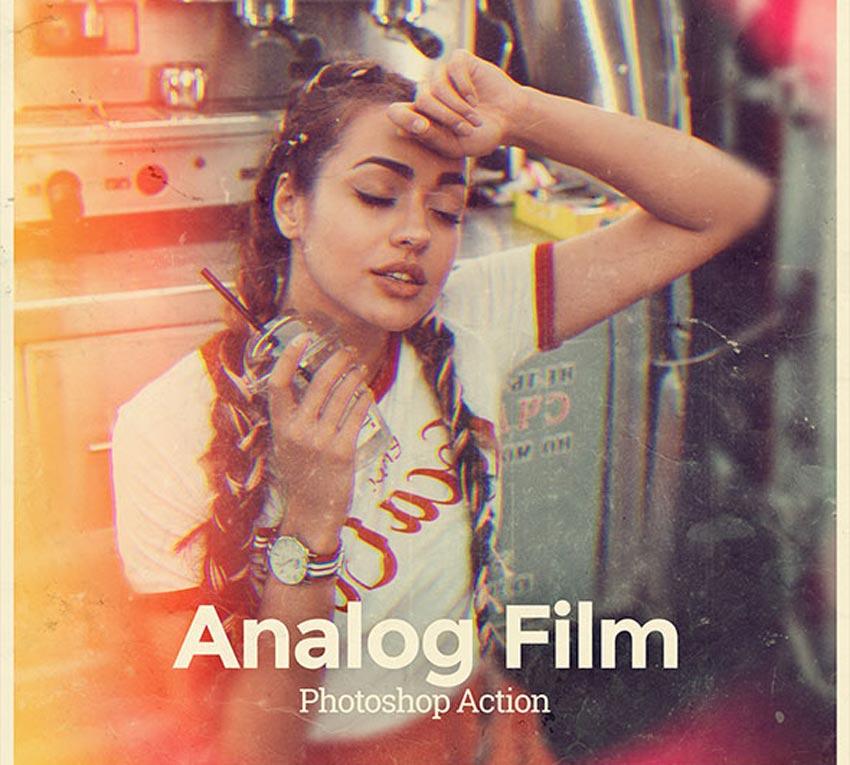 Analog Film Photoshop Action