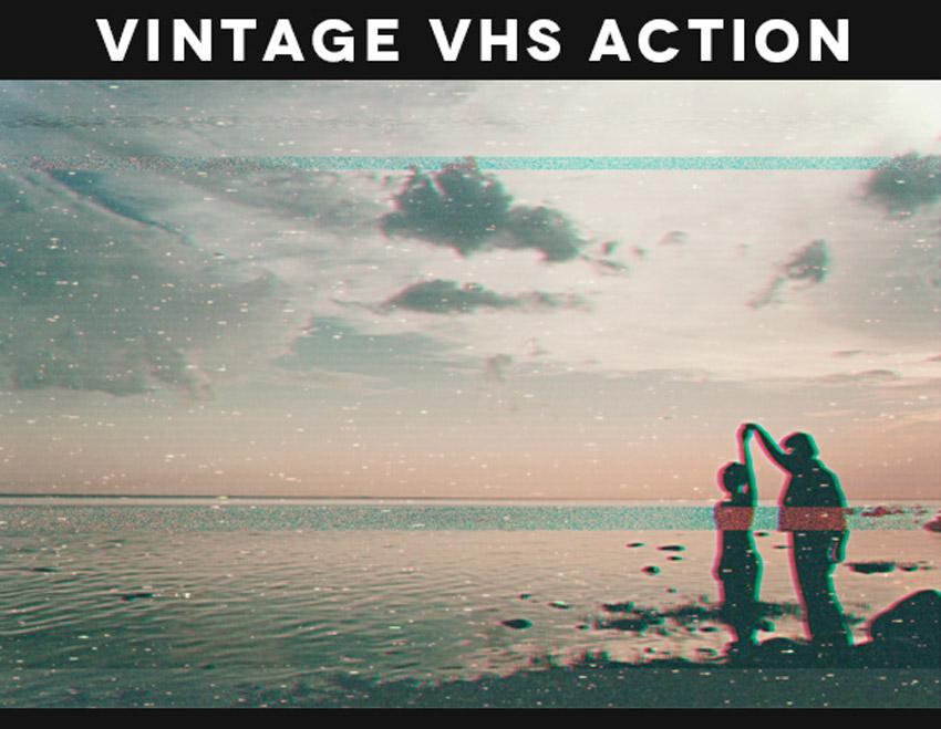 Vintage VHS Action