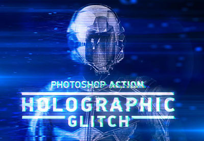 How to Create a Set of Glitches in Adobe Photoshop