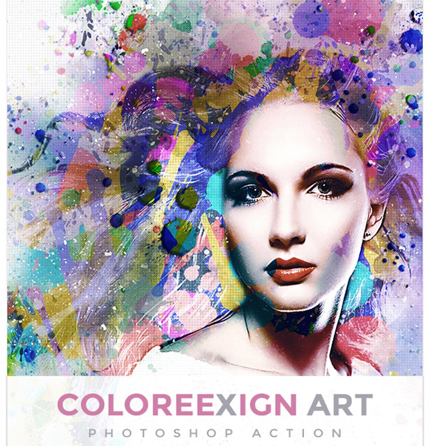 18 Cool Photoshop Watercolor Effects & Filters With Texture