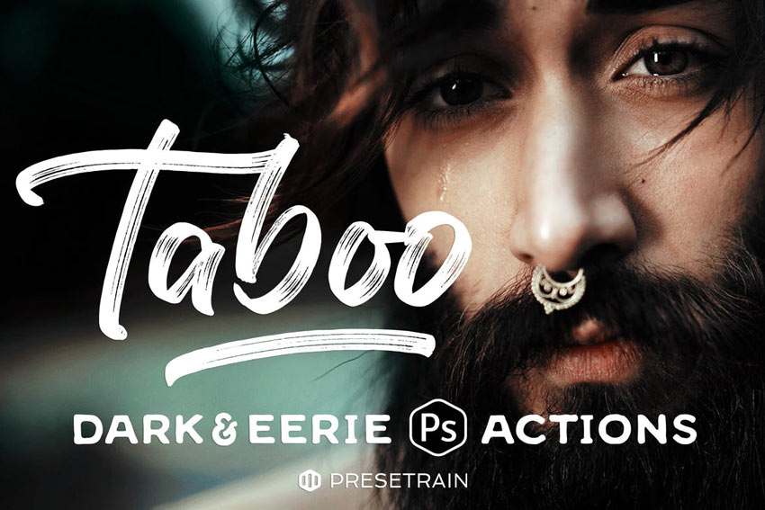 Taboo Dark Fantasy Photoshop Actions