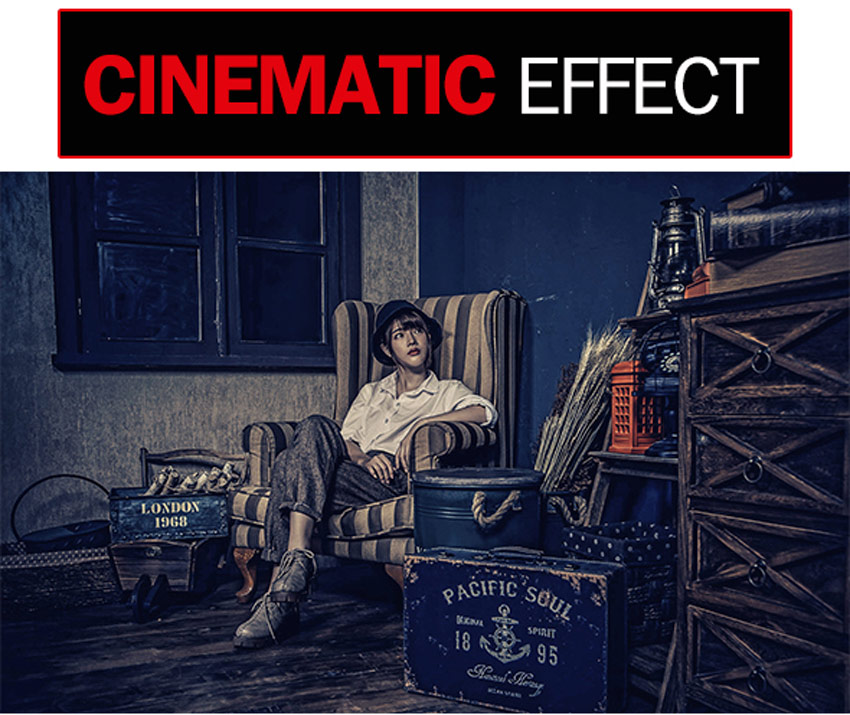 Cinematic Effect-Photoshop Action