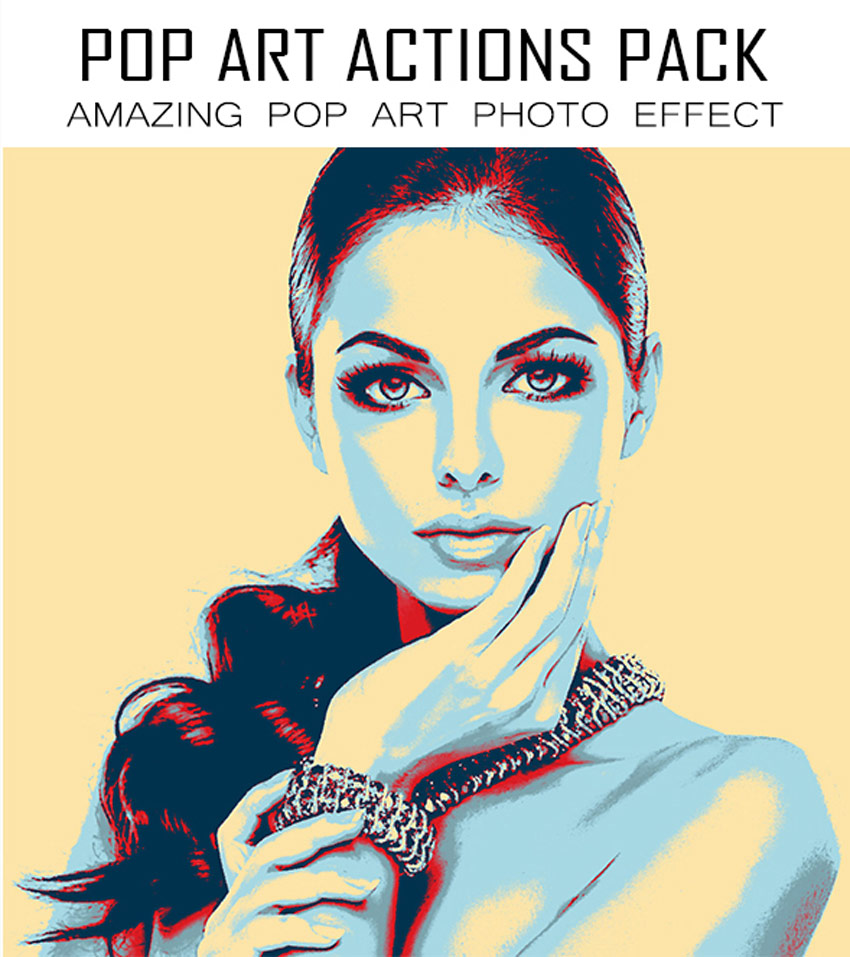 Pop Art Photoshop Actions Pack