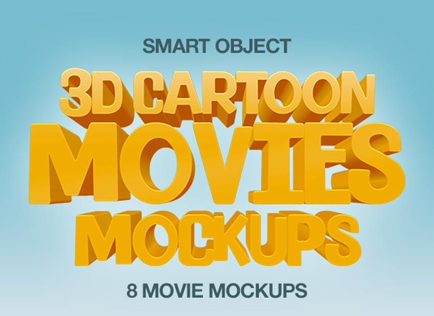 3D Cartoon Text Effects