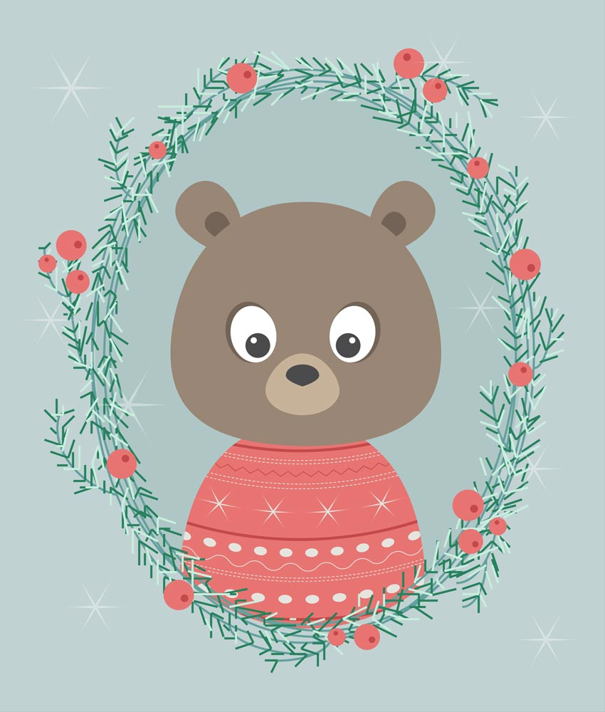 How to Create a Cartoon Polar Bear Portrait in Adobe Illustrator