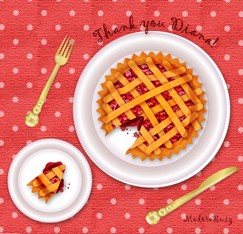 How to Create a Cherry Pie Text Effect in Adobe Illustrator