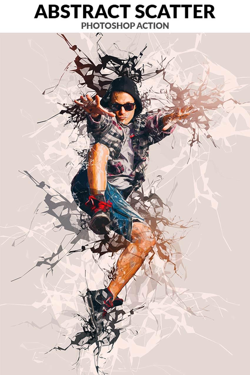 20 Efek Foto Seni Terbaik Di Shop Artistic PSD Actions