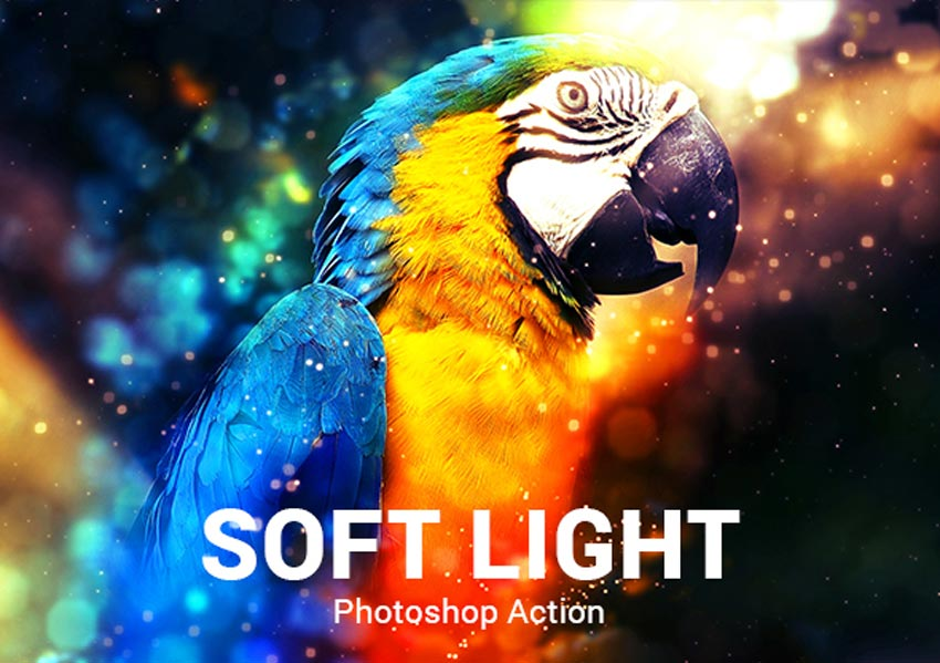 Soft Light Photoshop Action