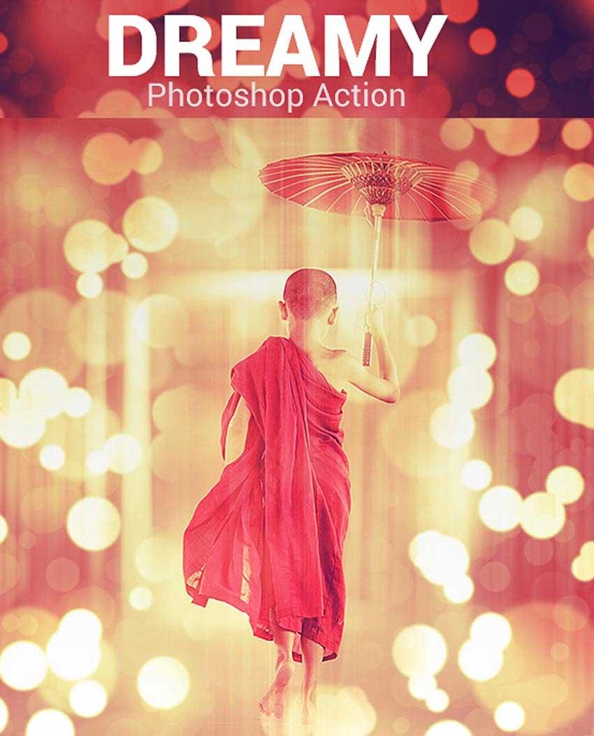 Dreamy Sparkle Photo Effect