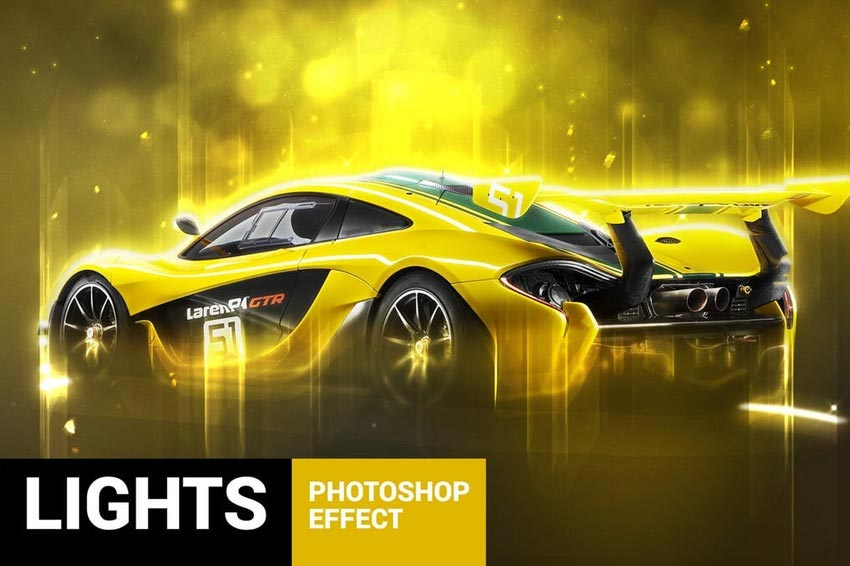 Lightum - Photo Light Effects Photoshop Actions