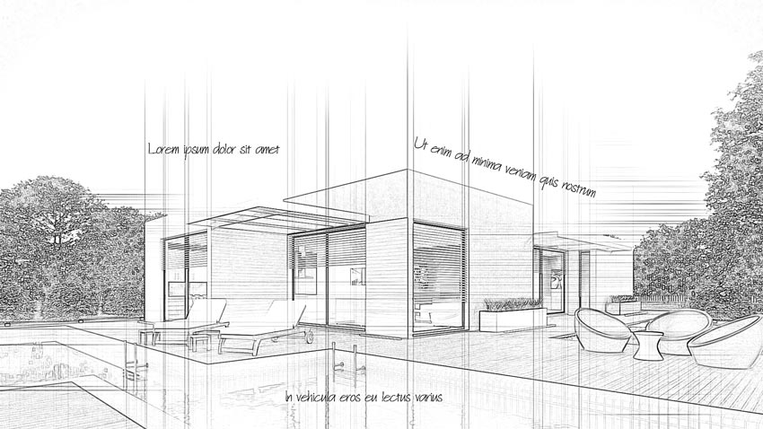 How to Create an Architecture Sketch Effect in Adobe Photoshop