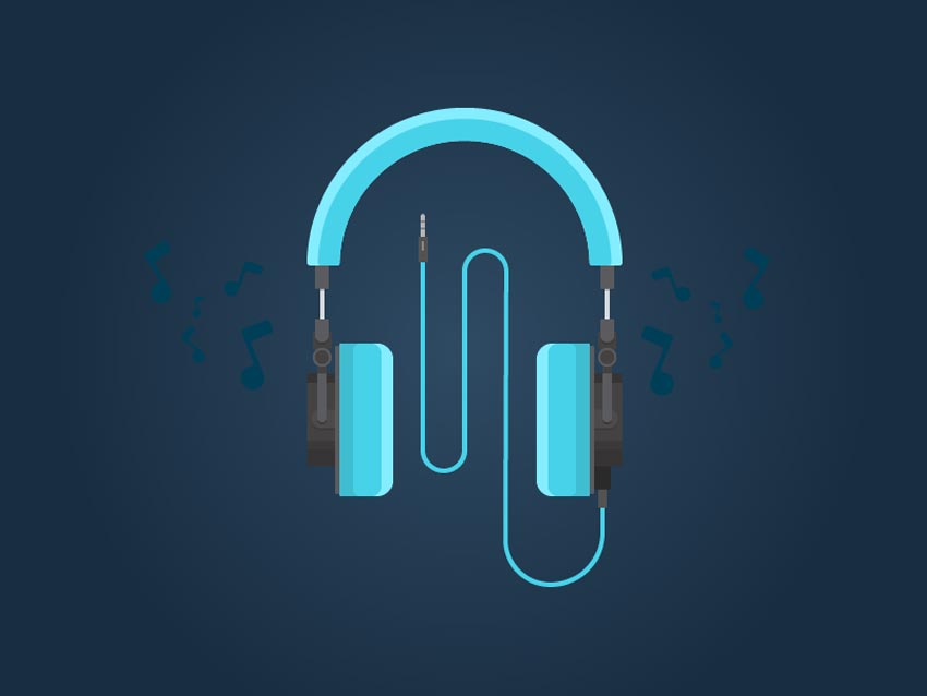 How to Create Flat Design Headphones in Adobe Illustrator
