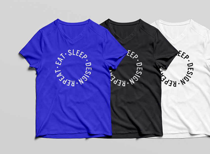25 Best Free Photoshop Psd T Shirt Mockup Templates