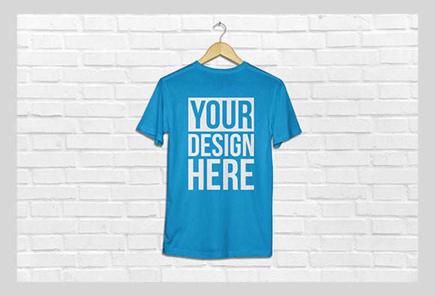 8559e6de 25+ Best Free Photoshop (PSD) T-Shirt Mockup Templates