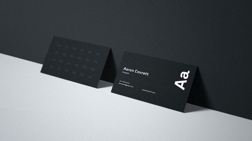 25 best free business card mockup psd designs 2018 free business card mockup reheart Image collections