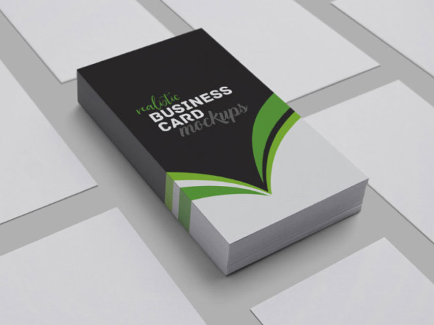 25 best free business card mockup psd designs 2018 realistic business card mockups wajeb