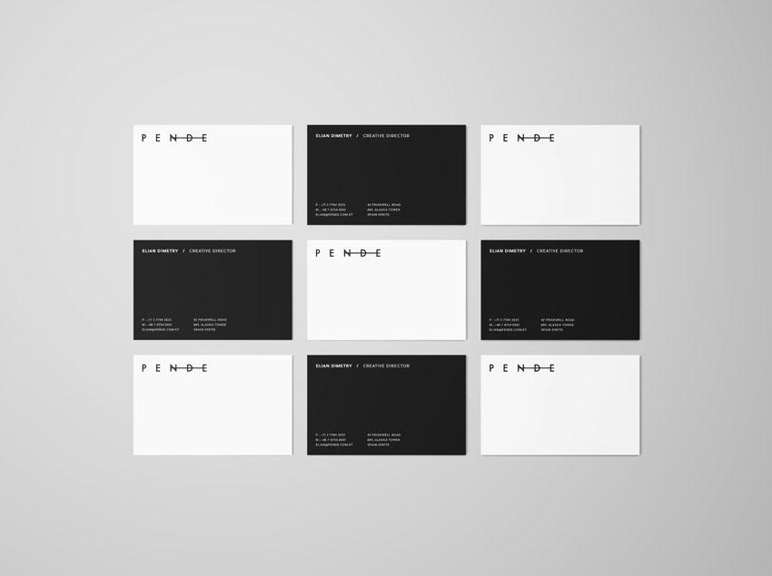 25 Best Free Business Card Mockup Psd Designs 2018