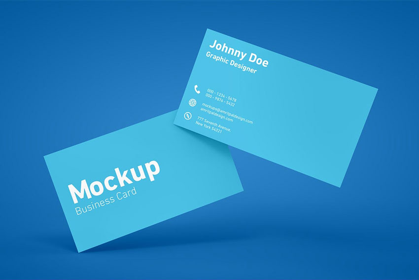 25 Best Free Business Card Mockup Psd Designs 2018