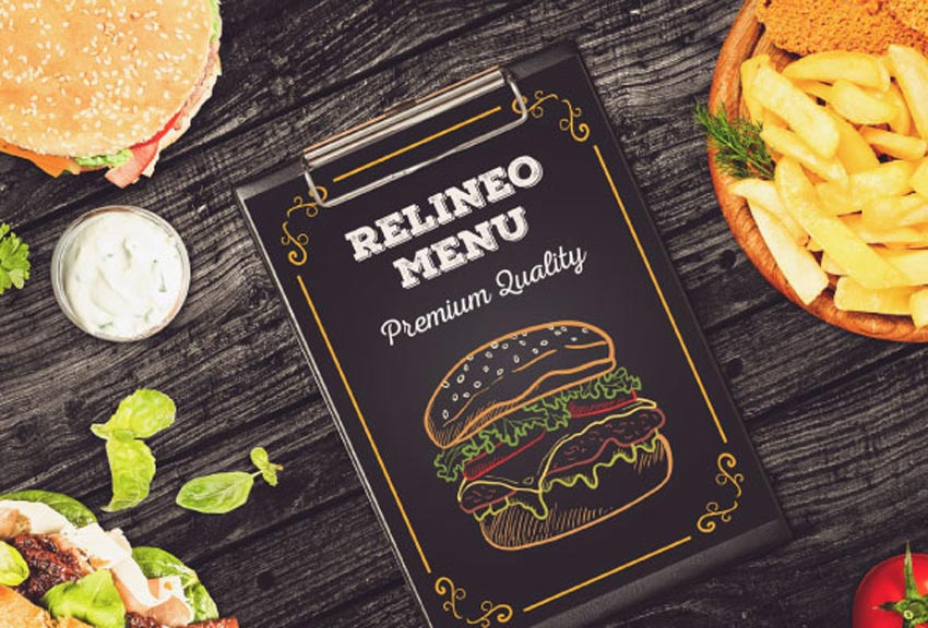 Fast Food Menu Mockup Pack