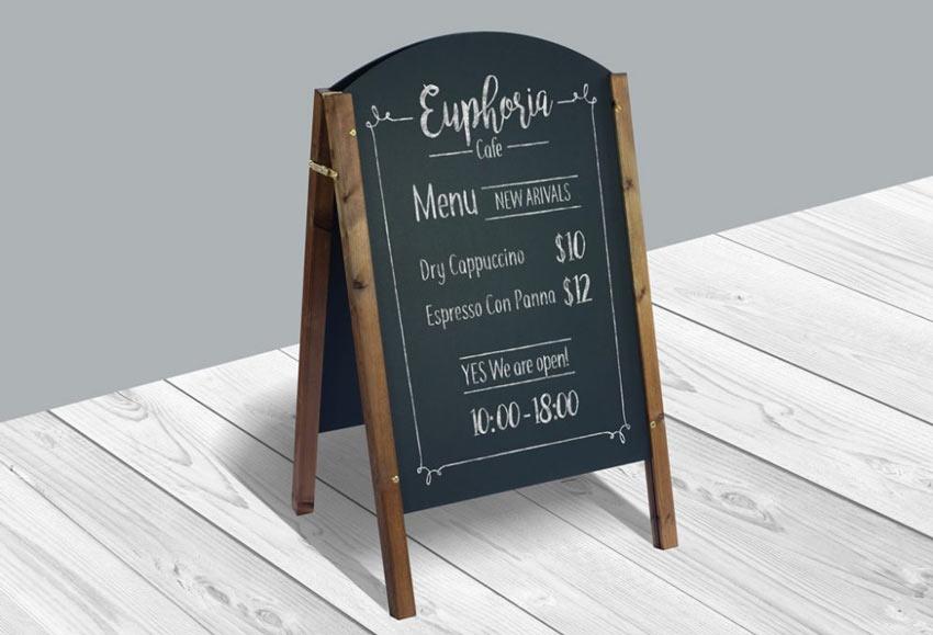 Gratis 25 Restoran Menu Template Psd Mockups