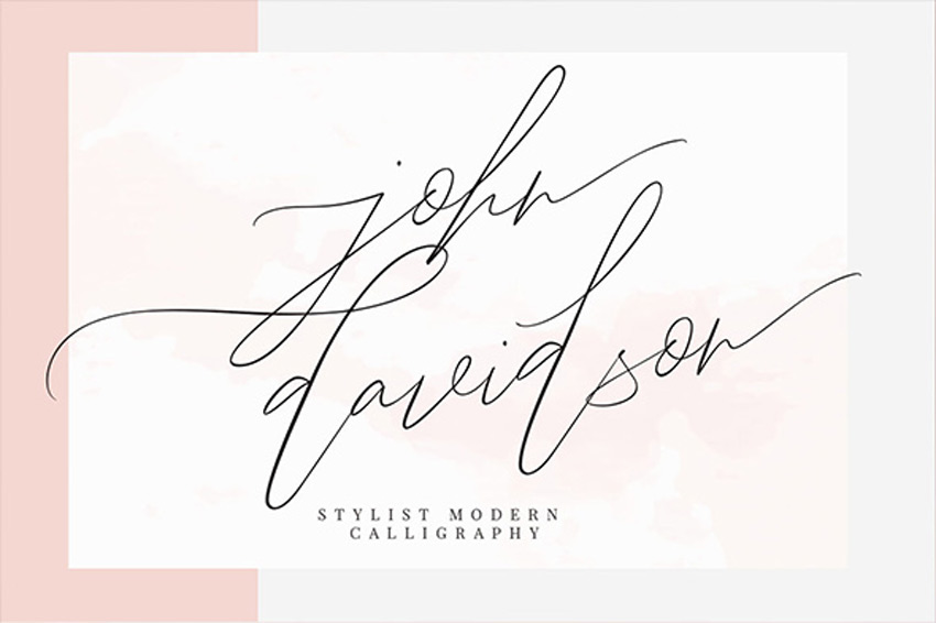 20+ Beautiful Modern Script Fonts (Typefaces for 2018)