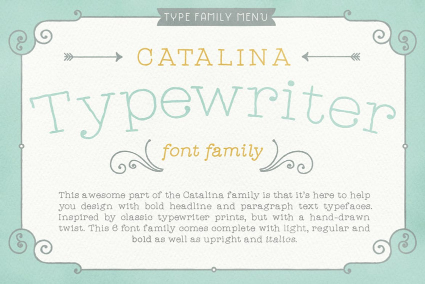20+ Best Classic Typewriter Fonts With Old (Vintage) Machine