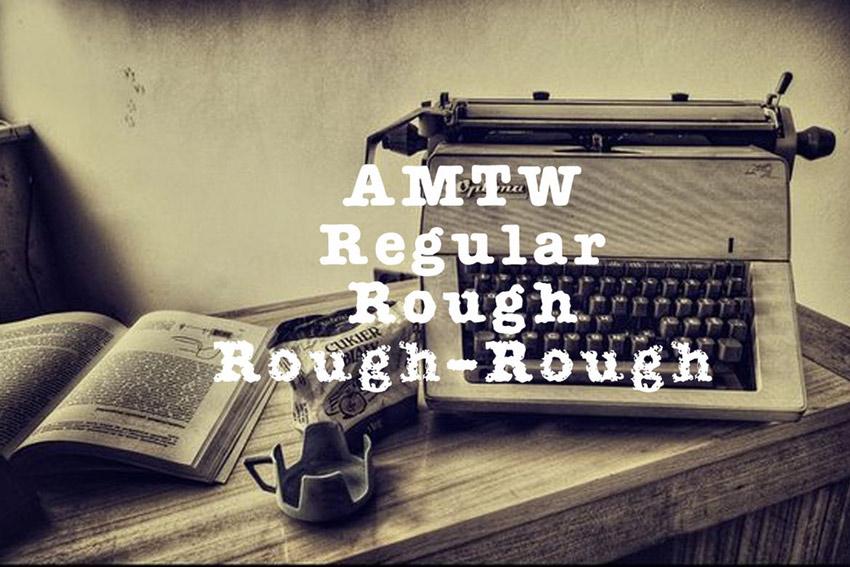 AMTW Typeface