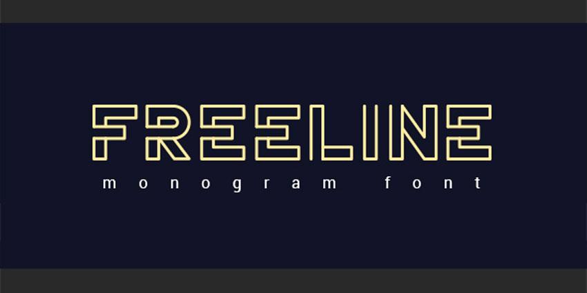 FreeLine Font