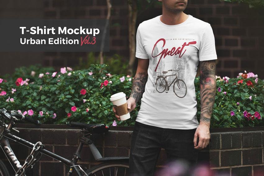 20+ Cool T-Shirt Mockup (Maker) Template Designs for 2018