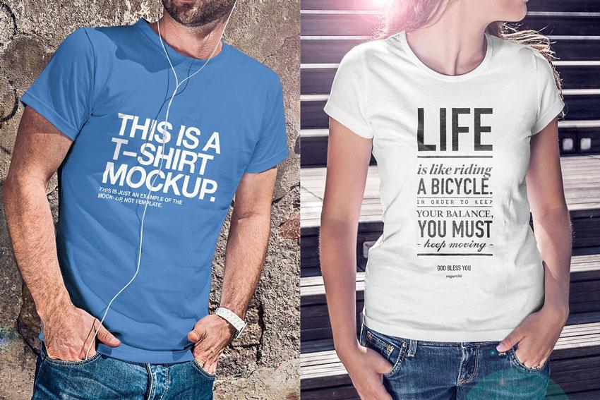 20 Cool T Shirt Mockup Maker Template Designs For 2018