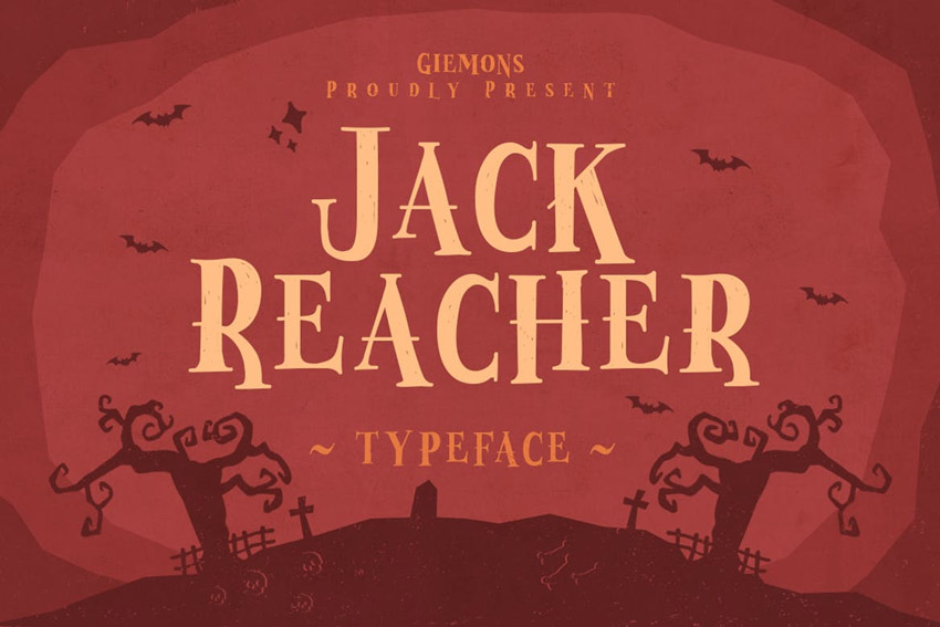 Jack Reacher Typeface