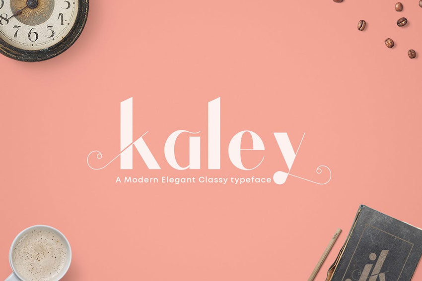 Kaley Elegant Typeface