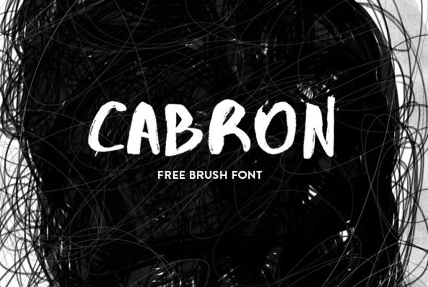 Cabron Font