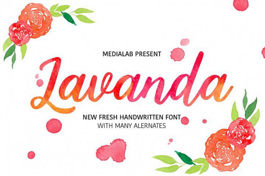 Lavanda Typeface