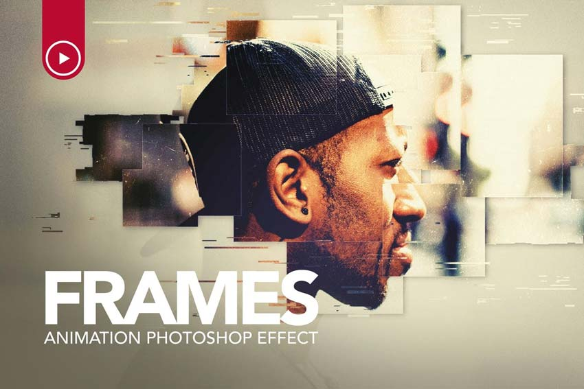 Frames Animation Photoshop Action