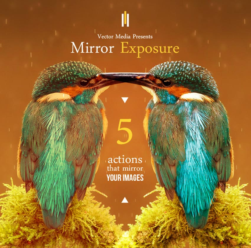 Mirror Exposure - Photoshop Actions