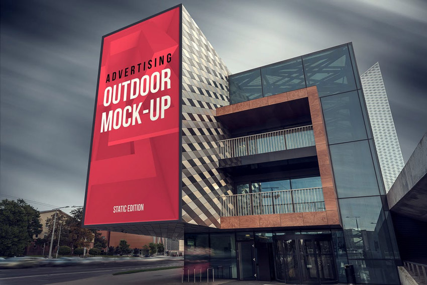 Animated Outdoor Advertising Mockups