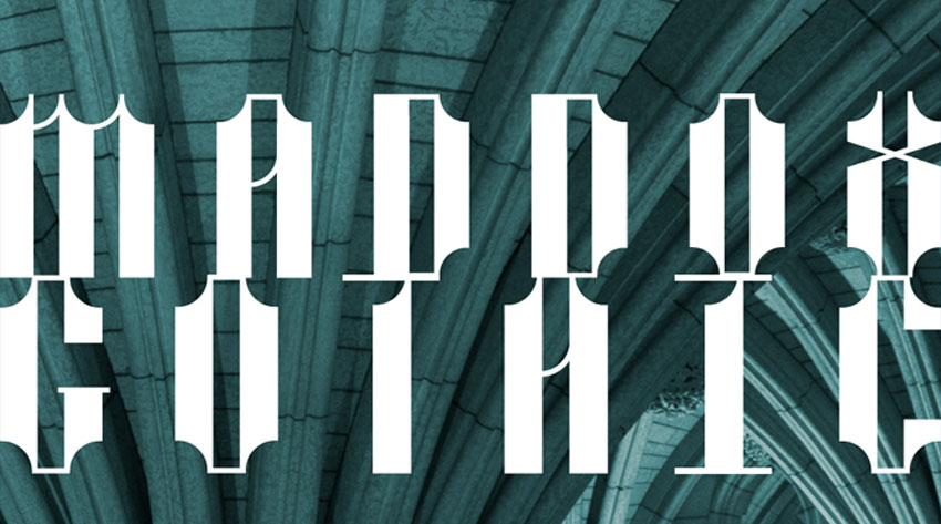 Maddox Gothic Display Font