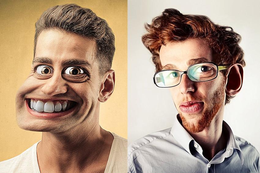 Caricature Photoshop Action