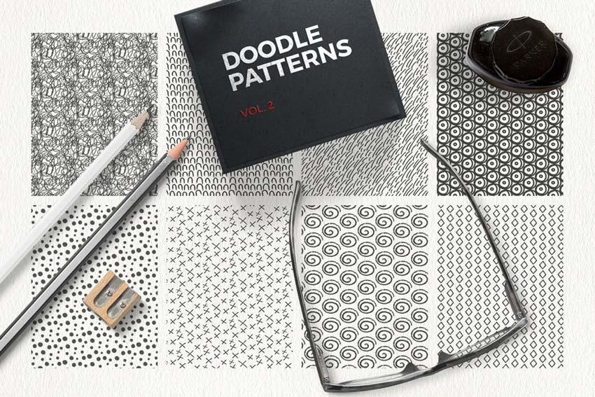 Doodle Line Patterns