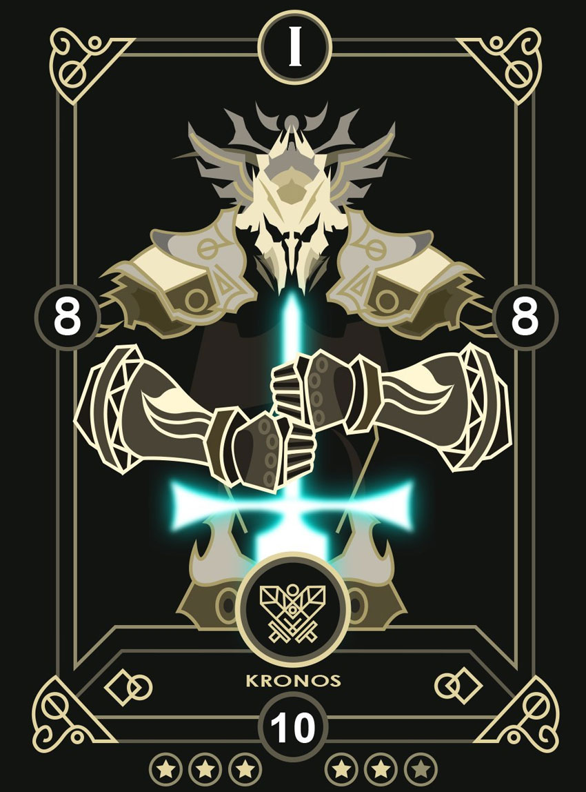Create a Modern Fantasy Card Design for Eminence Xanders Tales in Illustrator