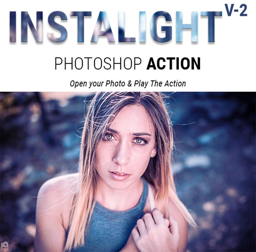 Instalight Photoshop Action