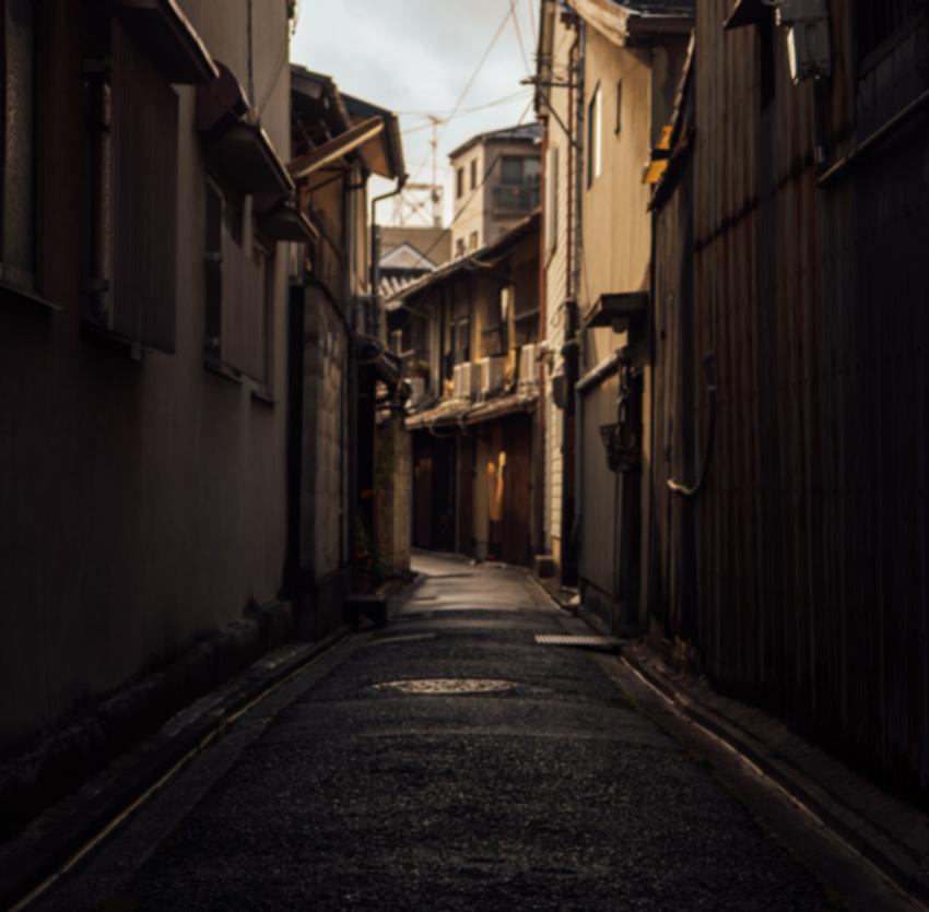 Blurred Alley