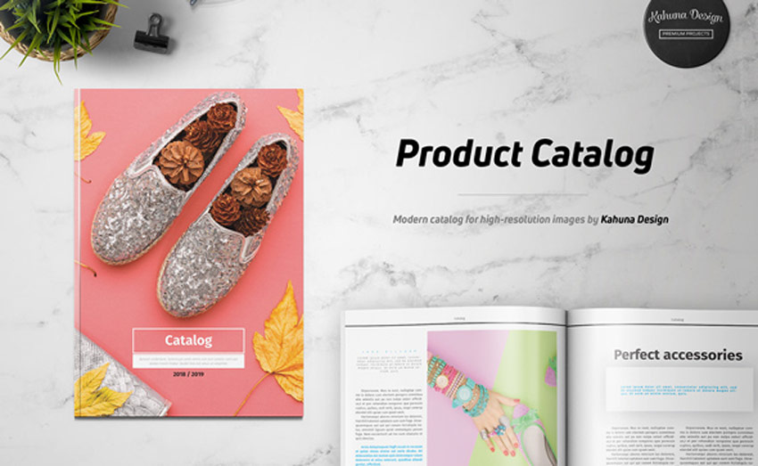 Product Catalog Brochure Template