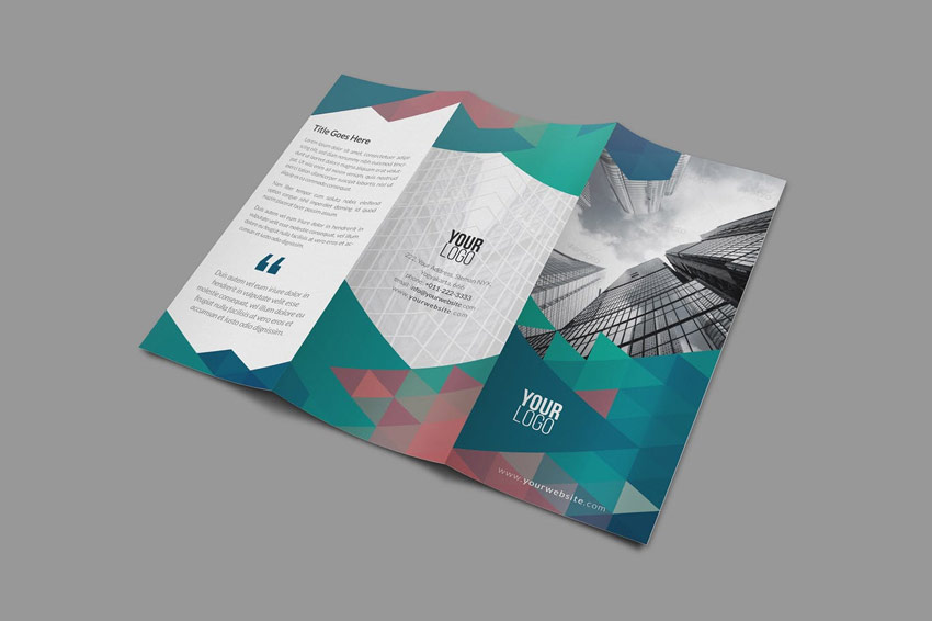 tri fold brochure psd template best trifold brochure templates & examples (word