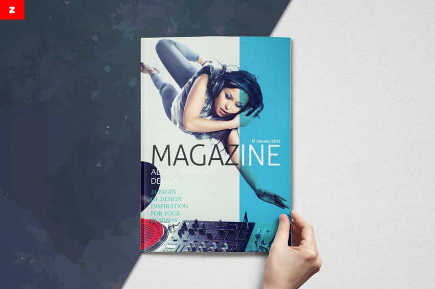 28 Best Magazine Cover Templates Indesign Photoshop Psd